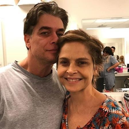 """Fábio Assunção e Drica Moraes atuam juntos na série """"A Fórmula"""" - Reprodução/Instagram"""