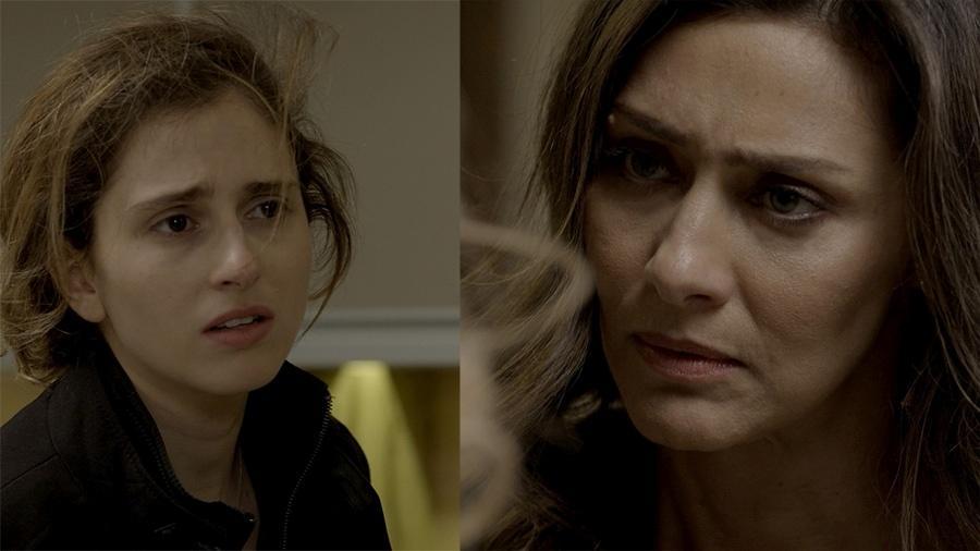 Joyce se descontrola ao ver Ivana ser confundida com um homem - Reprodução/Globo