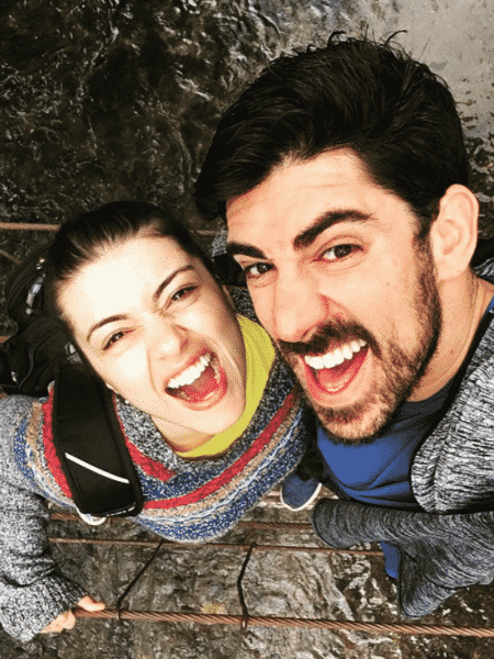 Patrícia Cardoso e Marcelo Adnet - Reprodução/Instagram