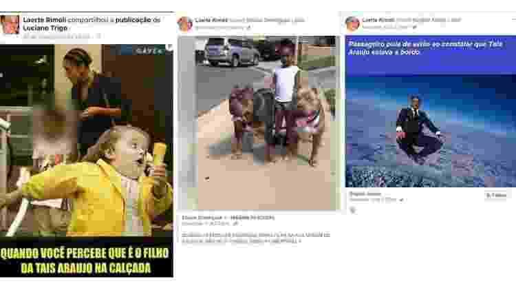 memes Laerte Rimoli - Reprodução / Facebook - Reprodução / Facebook