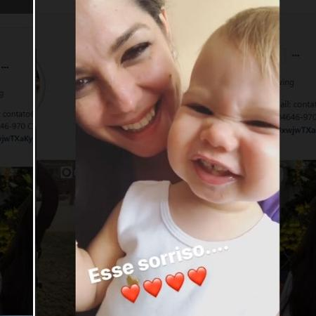 Thais Fersoza mostra Melinda dando um sorrisão - Reprodução/Instagram