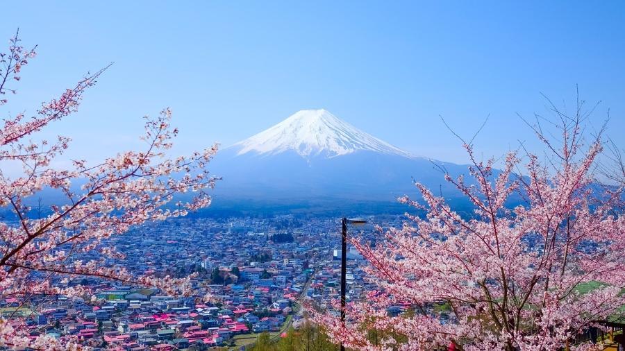 Monte Fuji, no Japão - Getty Images
