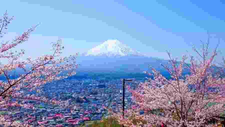 """O desejo é construir a """"cidade do futuro"""" na base do Monte Fuji, no Japão - Getty Images"""