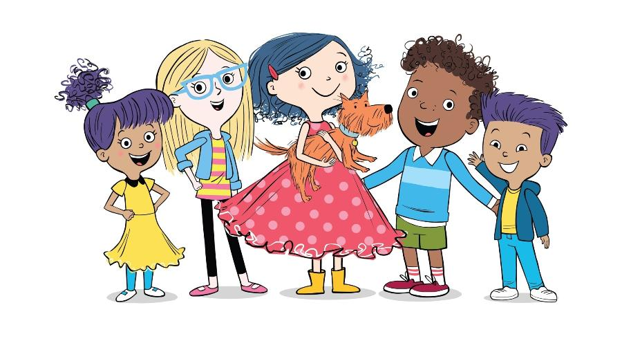 """""""DOT,"""" noca série animada idealizada por Randi Zuckerberg, irmã de Mark, do Facebook - Divulgação"""