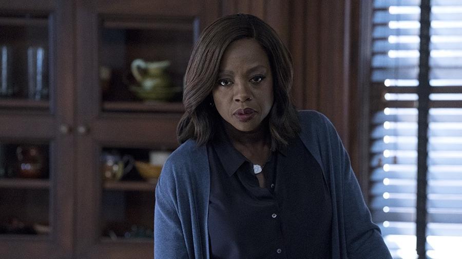 Viola Davis em cena de How To Get Away With Murder - Reprodução