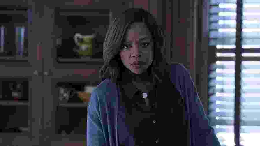 """Viola Davis em cena de """"How To Get Away With Murder"""" - Reprodução"""