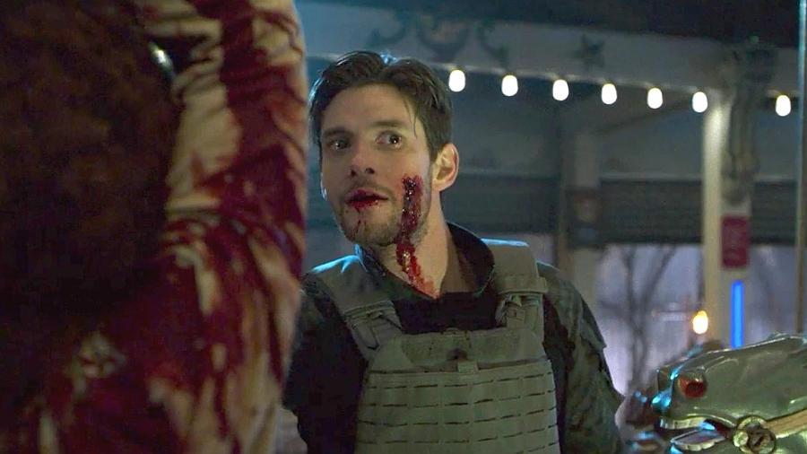 """O ator Ben Barnes como Billy Russo na primeira temporada de """"O Justiceiro"""" - Reprodução"""