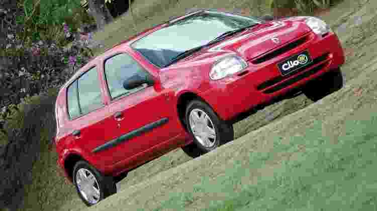Renault Clio - Divulgação - Divulgação