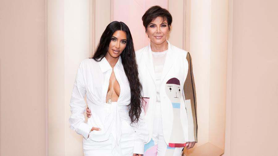 Kim Kardashian e Kris Jenner - Getty Images