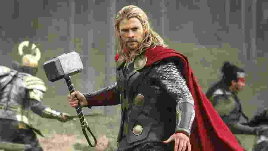 Chris Hemsworth como Thor - Reprodução