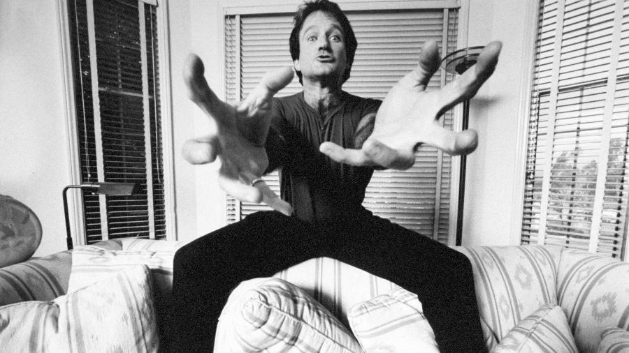"Imagem do documentário ""Robin Williams: Come Inside My Mind"" - Mark Sennet"