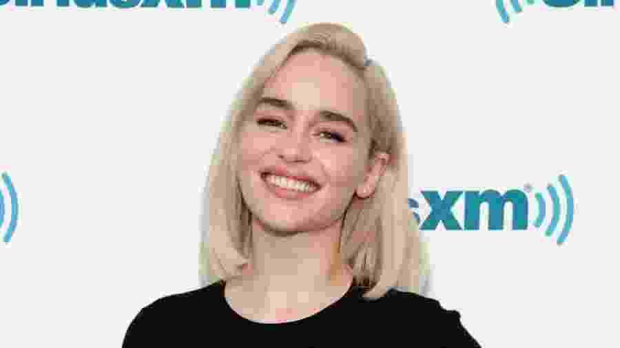 """A atriz britânica Emilia Clarke, estrela de """"Game of Thrones"""" - Getty Images"""