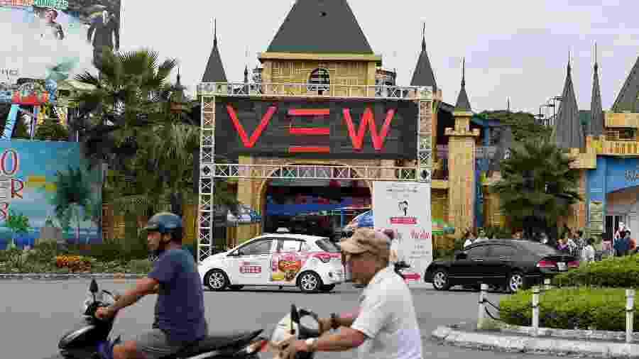 """Viagem à Lua"", festival de música em Hanói que registrou mortes após consumo de drogas - Nhac NGUYEN/AFP"