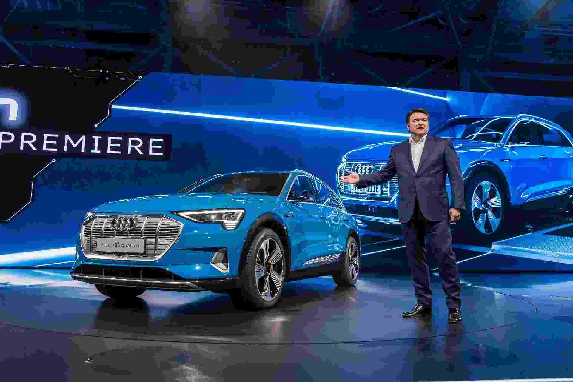 Audi E-Tron 2019 - Joe White/Reuters