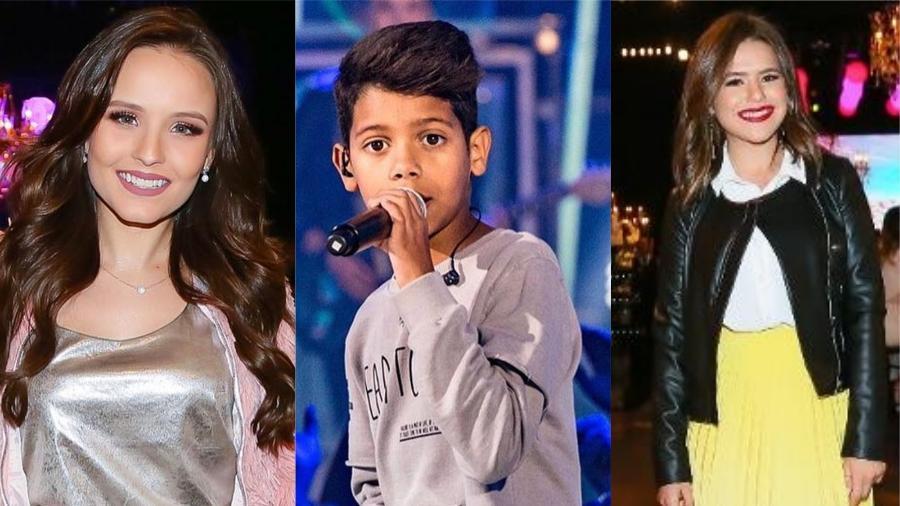 Larissa Manoela, MC Bruninho e Maisa - Reprodução/Instagram e Manuela Scarpa/Brazil News