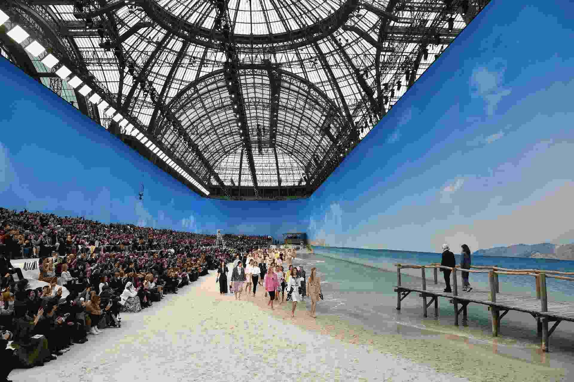 Desfile Chanel Semana de Moda de Paris Verão 2019 - Getty Images