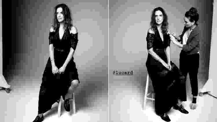 Mulher de Faustão, Luciana Cardoso revive tempos de modelo em ensaio