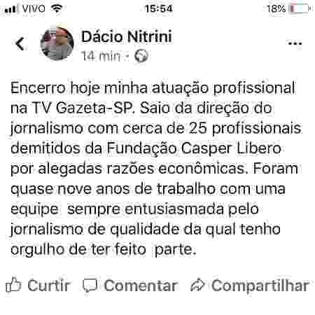 Dacio Nitrini - Post - Post