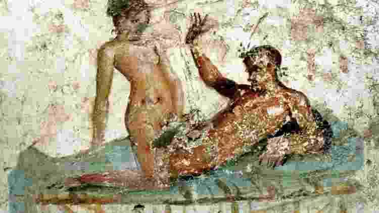 Enquanto era exigido um comportamento puritano das mulheres romanas, aos homens era permitido trair suas esposas como prova de virilidade - Getty Images - Getty Images