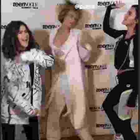 Maisa aparece dançando com Cara Delevingne e Bruna Marquezine  - Reprodução/Instagram - Reprodução/Instagram