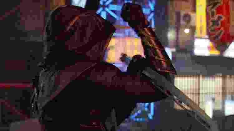 """Clint Barton como Ronin em cena de """"Vingadores: Ultimato"""" - Reprodução - Reprodução"""