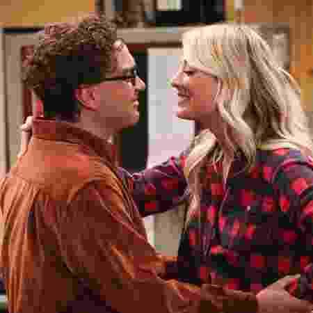 """Leonard e Penny, grávidos no último episódio de """"The Big Bang Theory"""" - Reprodução"""