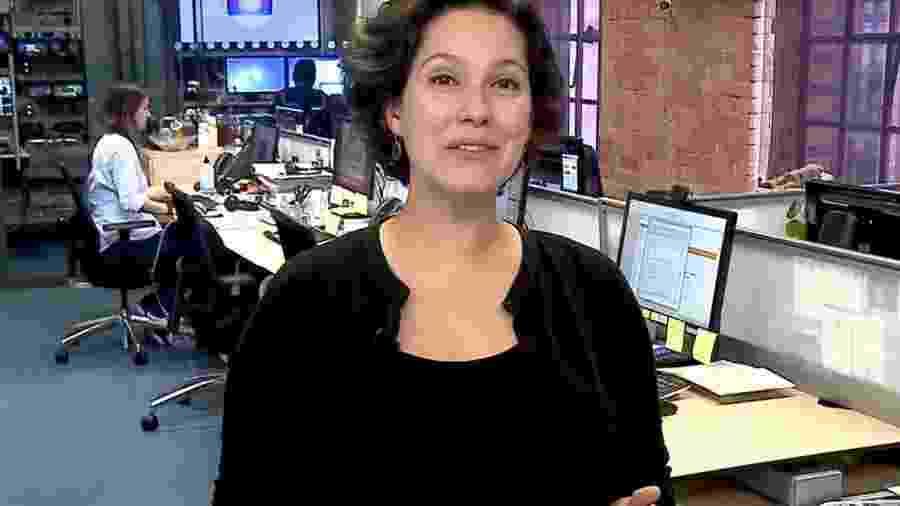 Cecília Malan se despede do Bom Dia Brasil para dar à luz - Reprodução/Globo