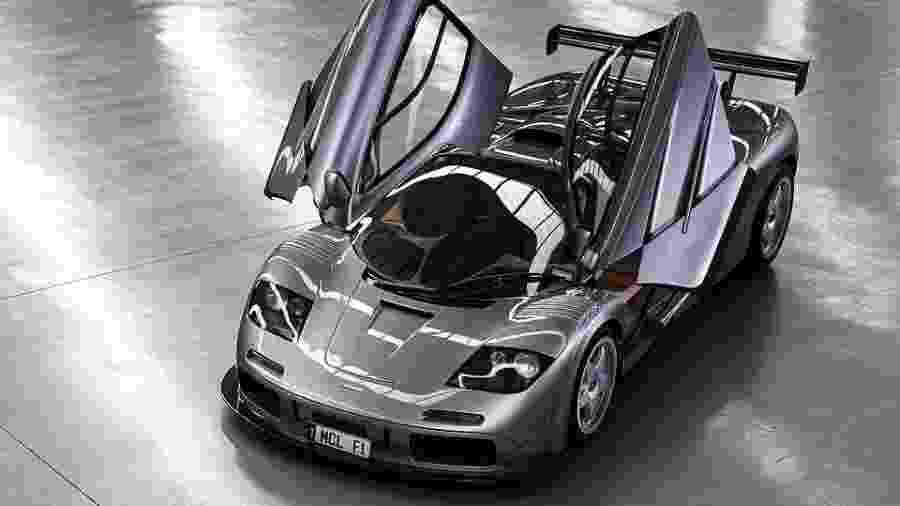 McLaren F1 LM de 1994 - Divulgação