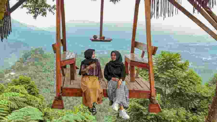 Cenário em Java Ocidental, na Indonésia - Reprodução/Instagram