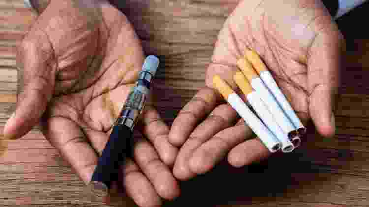 Vape; cigarro eletrônico - iStock - iStock