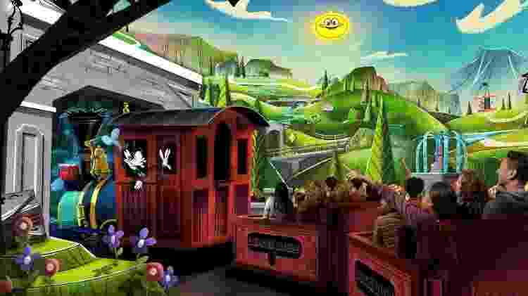 Mickey and Minnie's Runaway Railway, do Disney's Hollywood Studios - Divulgação/Visit Orlando