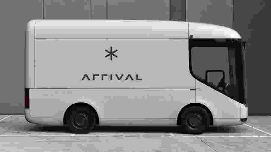 Van da startup Arrival - Divulgação