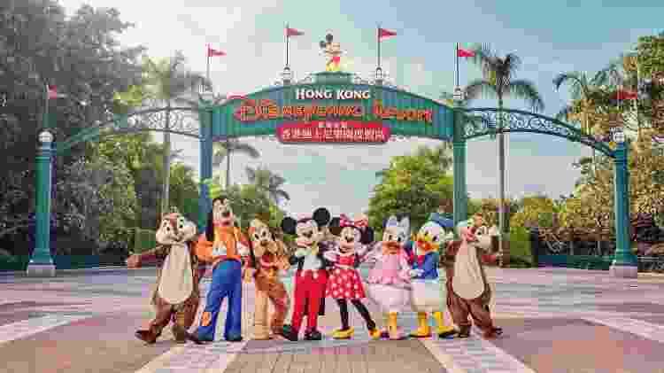 Hong Kong Disneyland Resort  - Divulgação - Divulgação