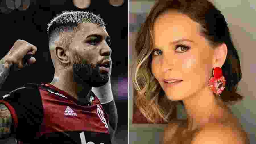 Gabigol e Fernanda Rodrigues discutiram no Twitter - Reprodução/Instagram