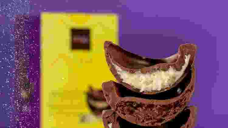 Delírios de Mousse de Chocolate, com um recheio de mousse  - Divulgação - Divulgação