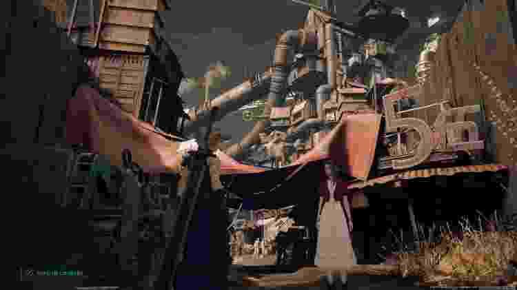 Final Fantasy VII cidade baixa 5 - Reprodução - Reprodução