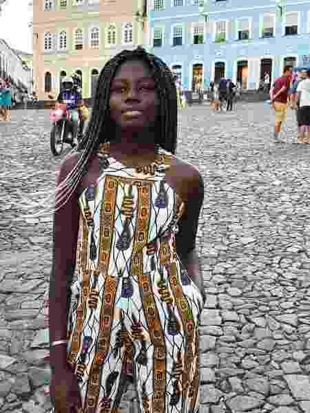 A estudante Fatou Ndiaye - Reprodução/Instagram