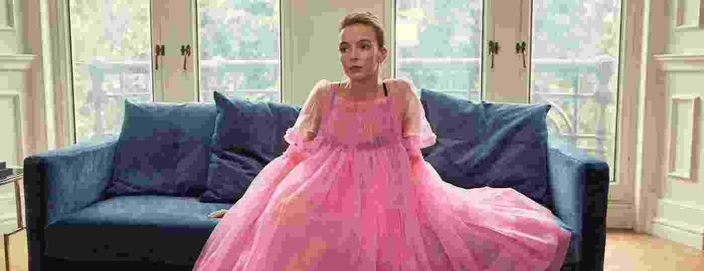 """Jodie Comer interpreta a serial killer fashion Villanelle na série britânica """"Killing Eve"""" - Divulgação"""