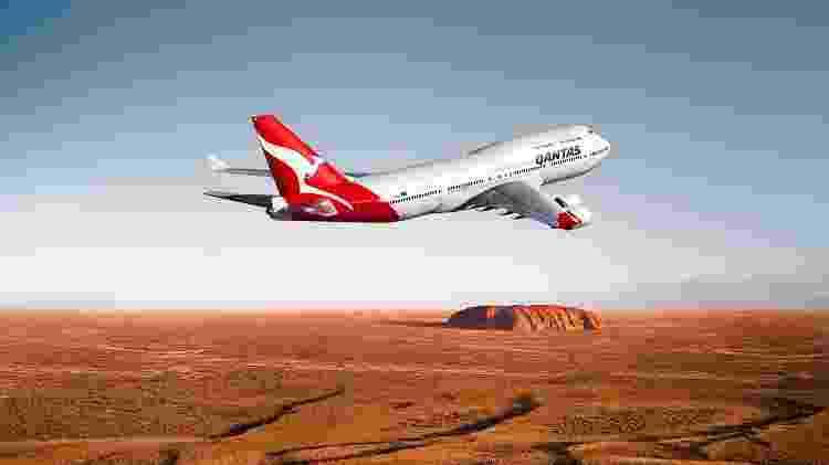 Qantas - Reprodução - Reprodução