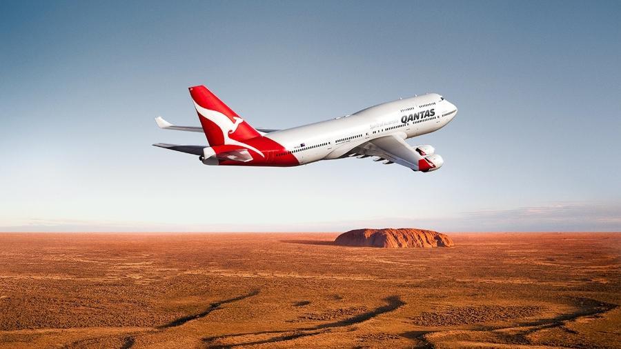 Atualmente, a Qantas é considerada a companhia aérea mais segura do mundo, segundo o levantamento - Reprodução