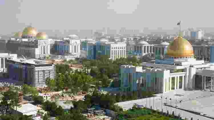A cidade de Ashgabat, no Turcomenistão - Getty Images/iStockphoto - Getty Images/iStockphoto