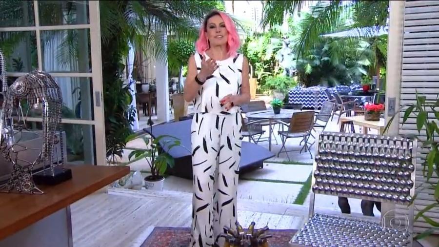 """Ana Maria Braga entrevistou Kerline no """"Mais Você"""" - Reprodução/Globoplay"""