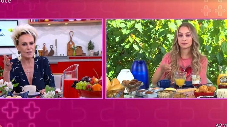 Ana Maria e Carla - Reprodução/TV Globo - Reprodução/TV Globo