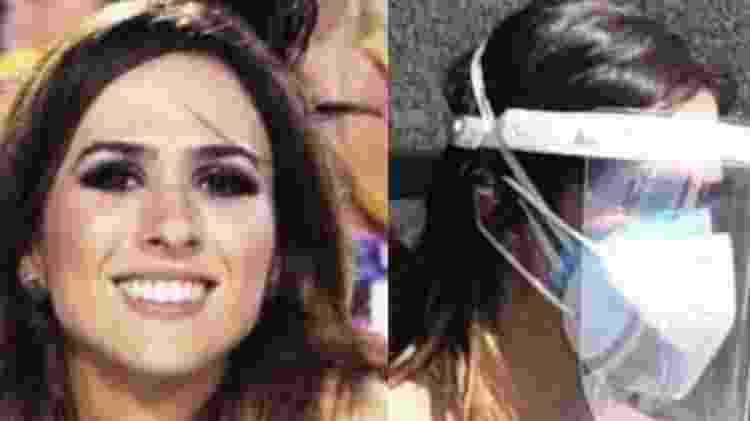 Tatá Werneck rebateu críticas sobre máscaras em velório de Paulo Gustavo - Reprodução/Instagram - Reprodução/Instagram