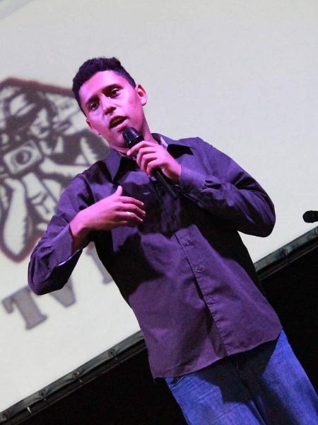 André Luiz, co-fundador da TV DOC CAPÃO, foi convidado do Festival Atlas das Juventudes - Divulgação