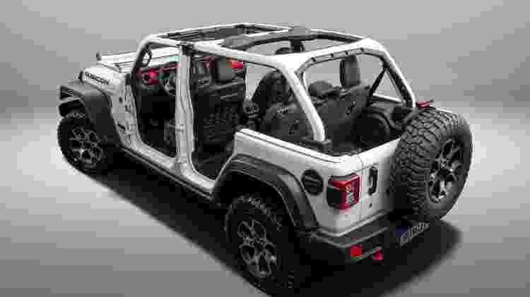 Jeep Wrangler Rubicon - Divulgação - Divulgação