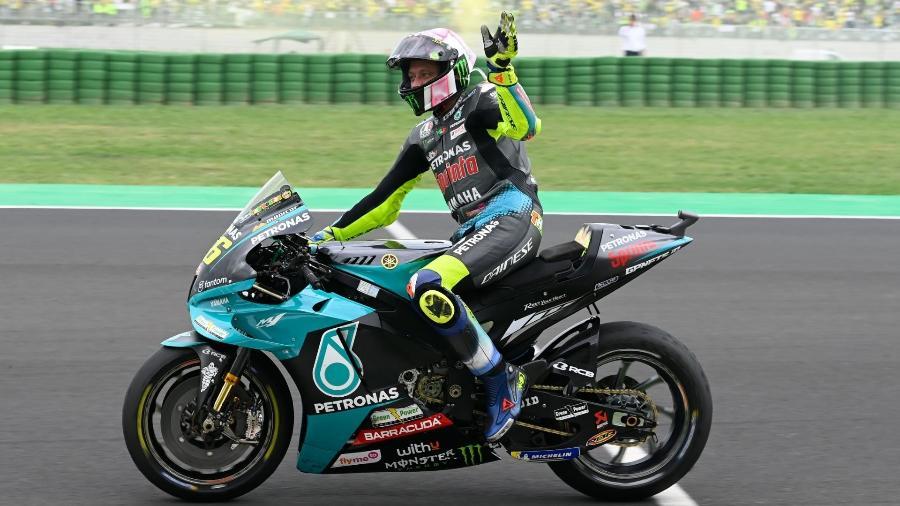 Dono de 9 títulos mundiais e 115 vitórias, Rossi está em sua última temporada na MotoGP sem deixar um substituto à altura - Divulgação