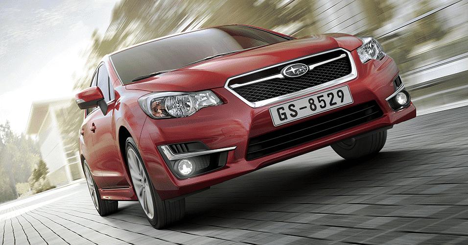 Subaru Impreza 2016 - Divulgação