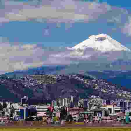 Vista de Quito, capital do Equador - Getty Images