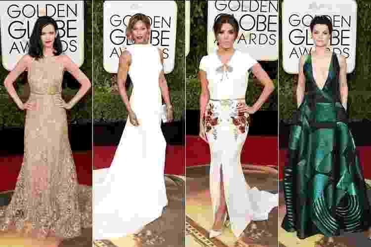Looks do Globo de Ouro 2016 - Montagem/Getty Images